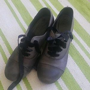 Born lace up heels